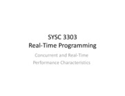 SYSC-3303-11-Performance