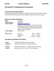 CS 235 Course Syllabus - Fall 2015.pdf