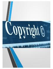 Copyright - Core Doctrines and Subject Matter.pdf