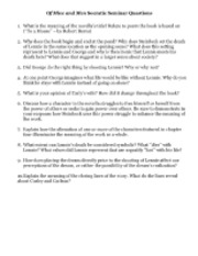 of mice and men 46 essay