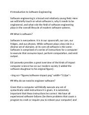 Introduction to Software Engineering.docx