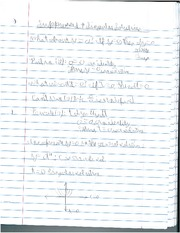 Physics 292 Homogenous Functions Notes