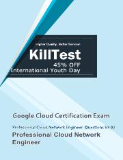 Updated Professional Cloud Network Engineer Test Questions V9.02 Killtest.pdf