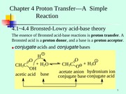 Chapter 4  Proton Transfer--A Simple Reaction