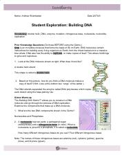 Gizmo%27s+Building+DNA.pdf - Name Date Student Exploration ...