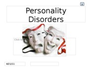 ABNPSYCH  (Personality Disorders)