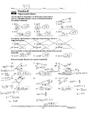 Trigonometric Ratios Worksheet - Wmmwww \u2018 \u2019 I ...