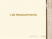 Lab 02 (-) - Lab Measurements (STUDENT)