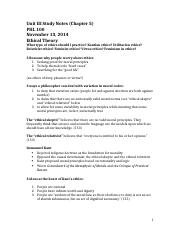 Unit III Study Notes (Chapter 5).docx