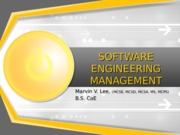 13. SOFTWARE ENGINEERING MANAGEMENT (2015-05-04) - Student