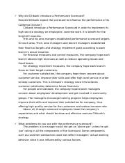Case Assignment Questions - Citibank - Performance Evaluation.docx