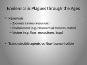 Lecture2 EpidemicsThroughTheAges