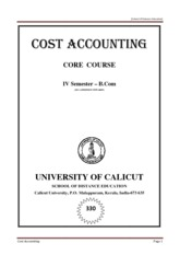 Core Cost Accounting