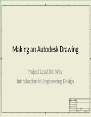 Making an Autodesk Drawing.pptx