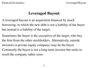Class 13 Leveraged_Buyout