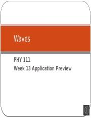 PHY111 W13 Application Preview.pptx