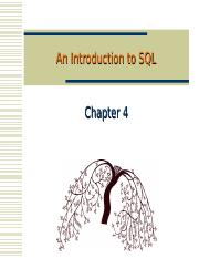 6 An Introduction to SQL