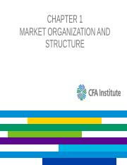 L01_investments_chapter1_Market Organization and Structure