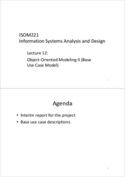 ISOM221+Lecture+12+-+Object-Oriented+Modeling+II+_Base+Use+Case+Model_