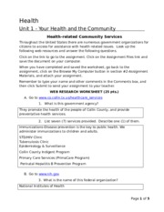 106_Health_Related_Community_Services