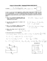 Phys 0175 - Worksheet _7 Solution