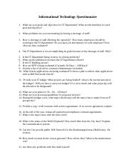 Informational Technology Questionnaire (1).docx