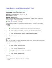 10.12 Heat, Energy, and Reactions Unit Test.docx