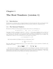 CH 1 real numbers