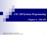 CSC320 chapter4