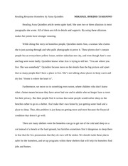 homeless by anna quindlen essay Anna quindlen essays argumentative essay for high school students business plan for custom jewelrythe main character of homeless by anna quindlen is ann.
