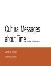 Cultural Messages about Time_TanyaMakkar.pptx