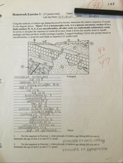 GEOL 101 Homework Exercise 1