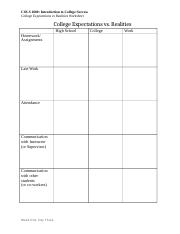 1.3.3 College Excpectations vs Realities Worksheet.docx