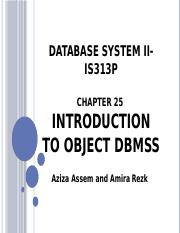lecture9 _ Database System II- IS313P.pptx
