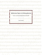 Reflection Paper on Schizophrenia
