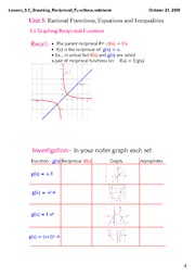 5.1 Lesson Graphing_Reciprocal_Functions