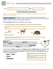 Cladograms_modifiedThompson.pdf - Name Javi Hernandez Date ...