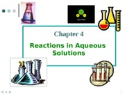AP Chem Ch 4 Powerpoint