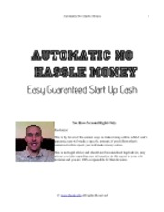 Automatic No Hassle Money
