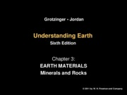 Chapter 3a - Earth Materials