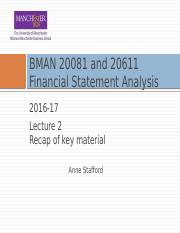 BMAN 20081 Lecture 02 2016 17 Recap of key material pre-lecture version.pptx
