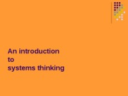 systems thinking 2