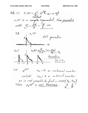 ECED 3500 Fall 2007 Midterm Exam Solutions