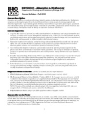 BIO120-Syllabus-Fall2010