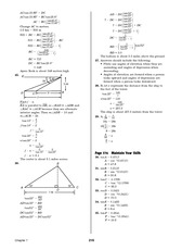 Pre-Calculus Homework Solutions 214