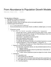 From Abundance to Population Growth Models.pdf