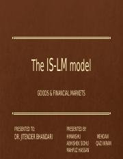 The IS-LM model.pptx