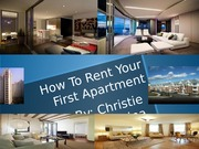 How to Rent Your First Apartment Power Point