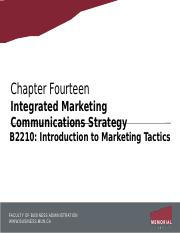 Chapter 14 - Communicating Customer Value.pptx