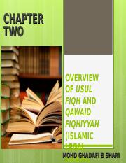overview of Usul fiqh and QF.ppt
